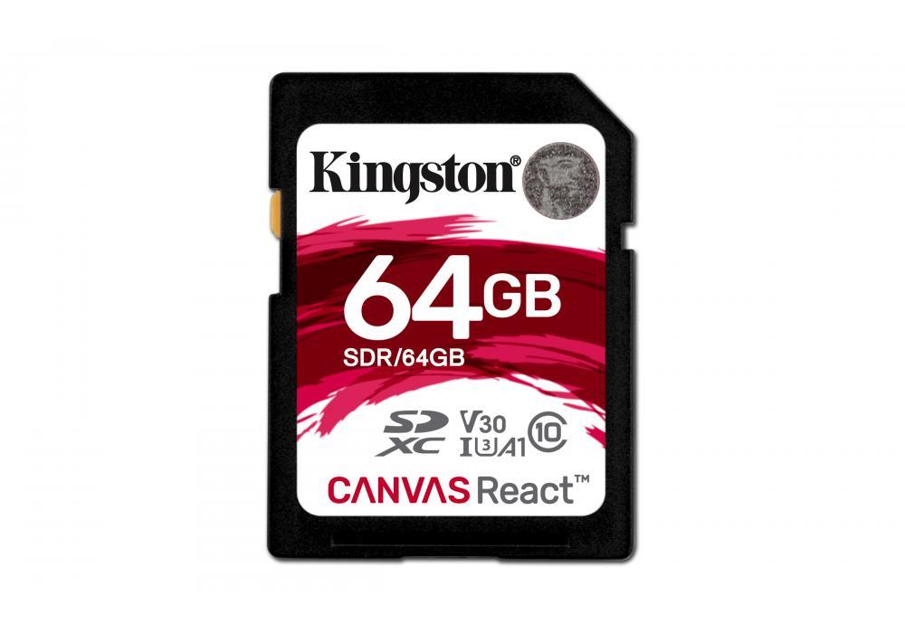 Kingston Canvas React 64GB / SDR