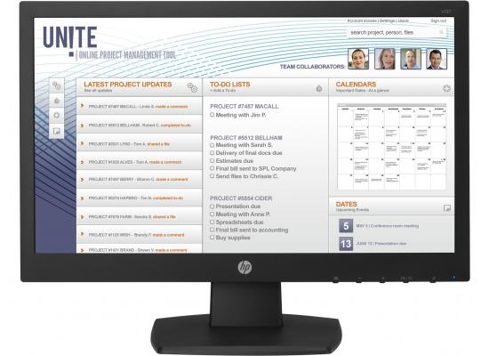 "HP V197  19"" Monitor"