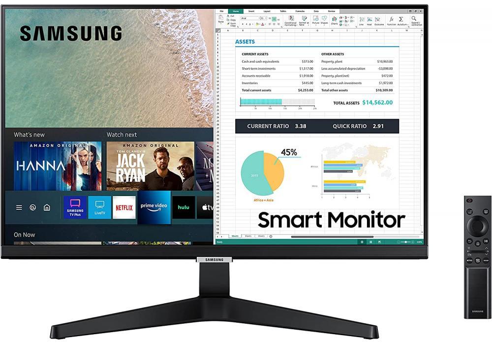 Monitor SAMSUNG M5 24-Inch FHD HDR10 SMART