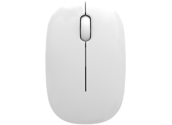 Mouse Wireless G-190 Slim - White
