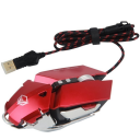 Meetion Metallic Programmable Gaming Mouse Wired M985 Red