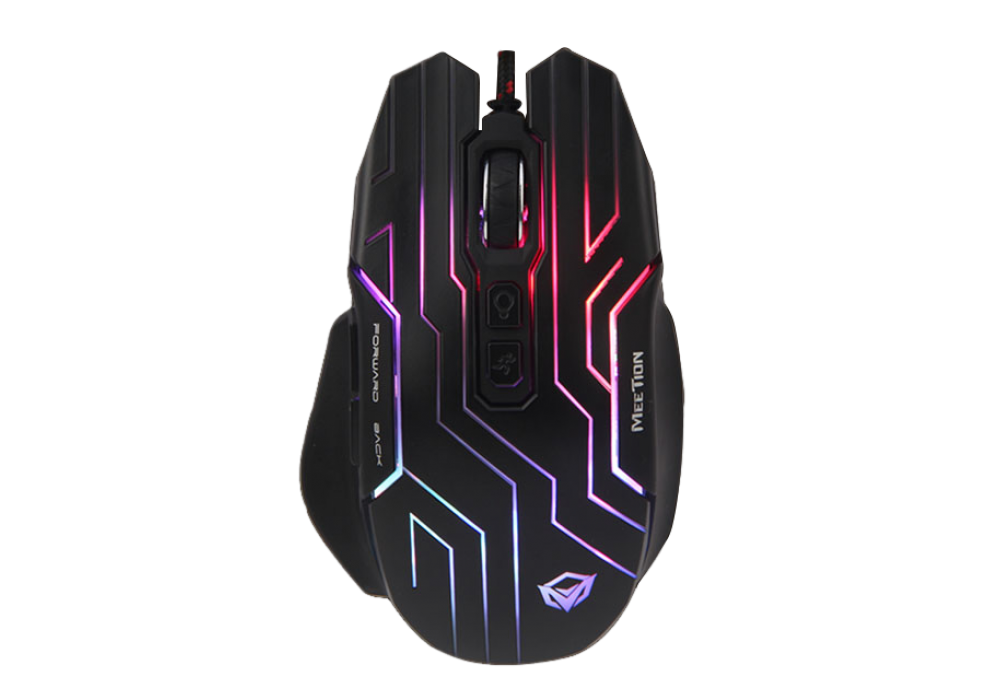 Meetion Dazzling Wired Gaming Mouse RGB GM22