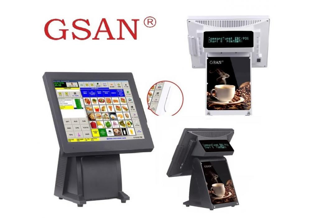 GSAN GS-T3 Touch POS system - All in one Quad Core