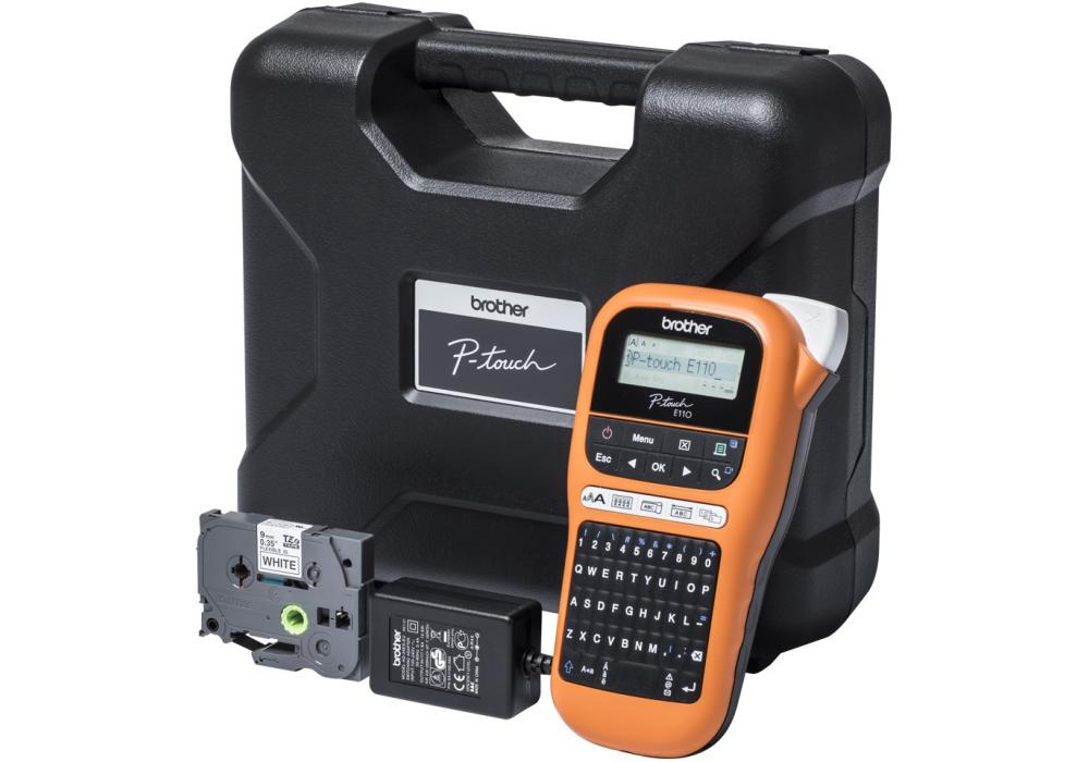 Brother Industrial durable label maker PT-E110VP