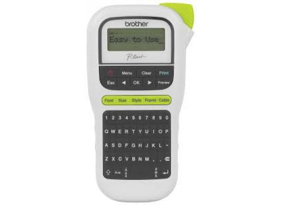 Brother P-touch Easy Portable Label Maker PTH110