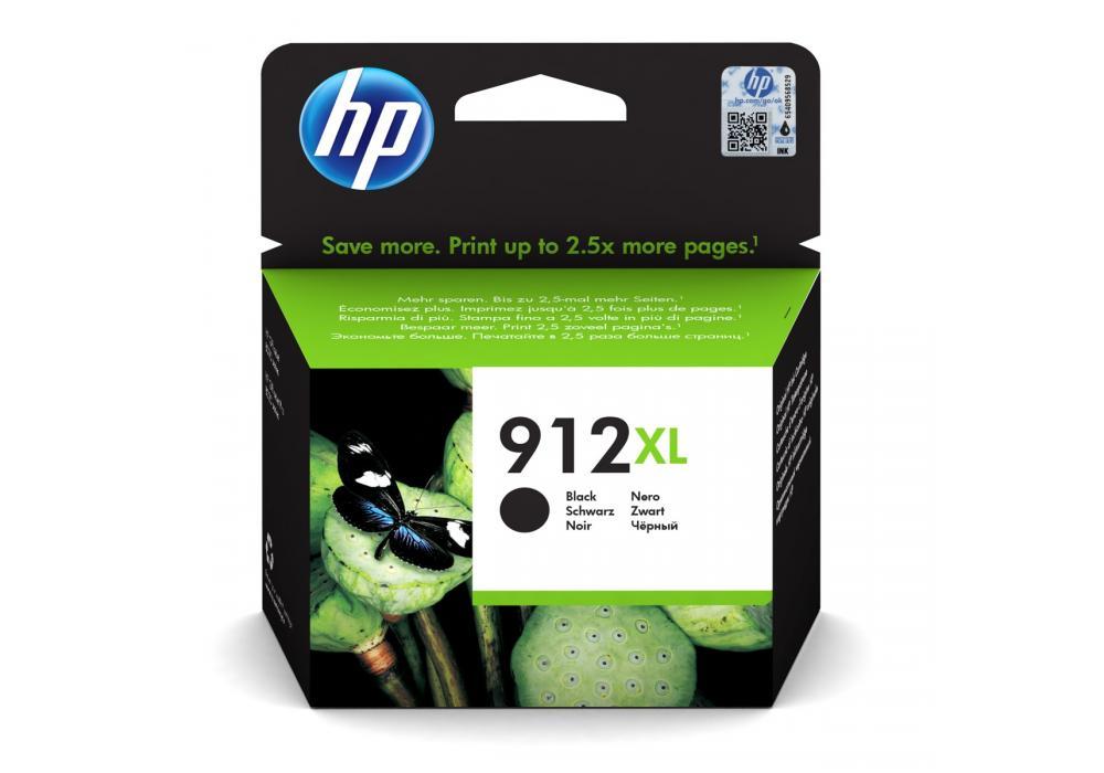 HP Ink Cartridge 912XL Black