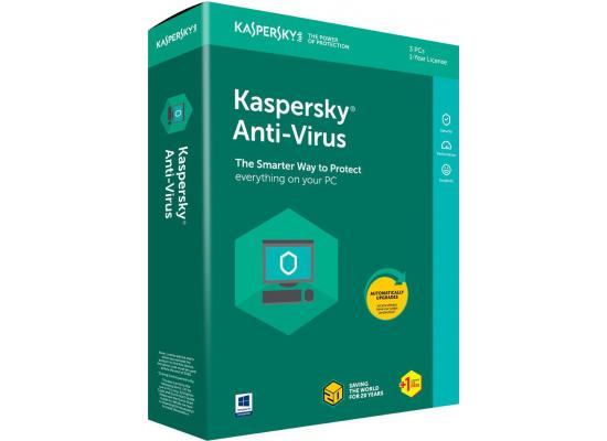Kaspersky Anti-Virus 2018 2 Devices