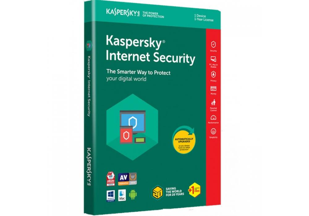 Kaspersky Internet Security 2018 2 Devices