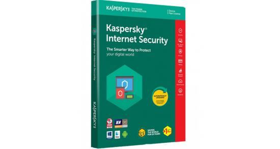 Kaspersky Internet Security 2018 2 Devices