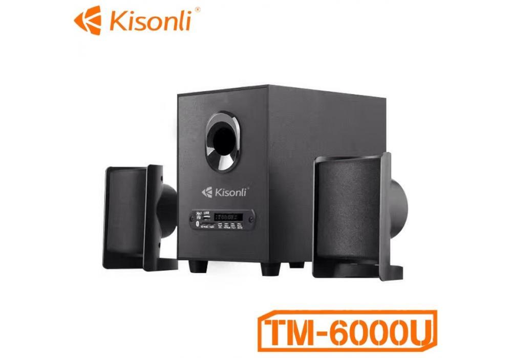 Kisonli TM-6000U USB 2.1 Multimedia BluetoothT Speaker