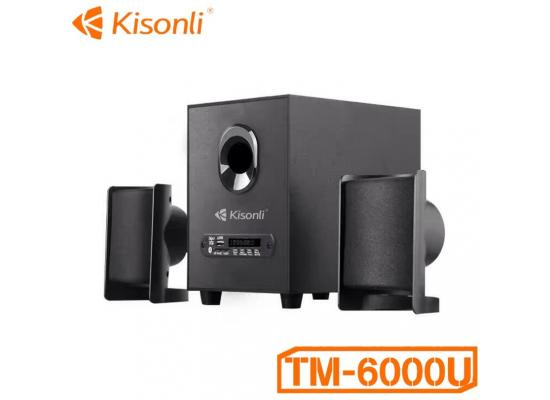 Kisonli TM-6000U USB 2.1 Multimedia BluetoothT Speaker