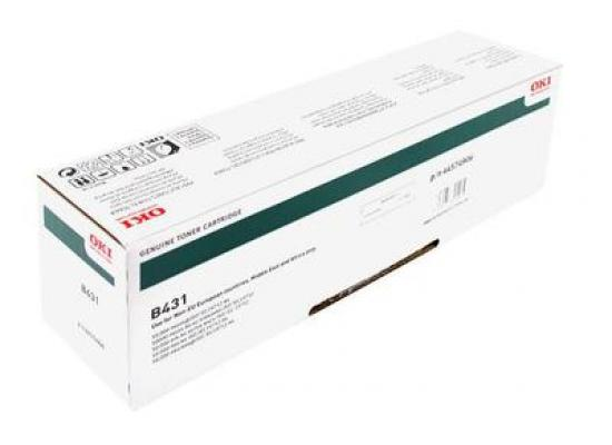 OKI B431 TONER CARTRIDGE BLACK