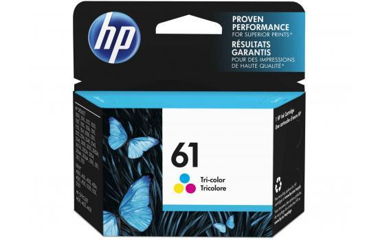 HP Ink Cartridge 61 Color