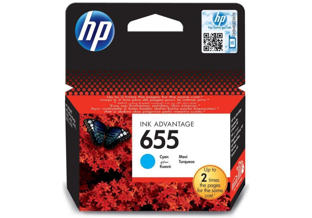 HP Ink 655 Cyan