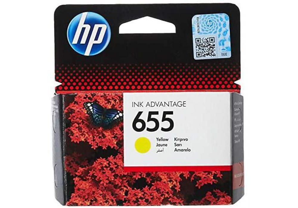 HP Ink 655 Yellow