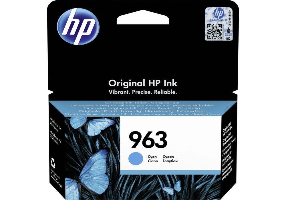 HP Ink Cartridge 963 Cyan