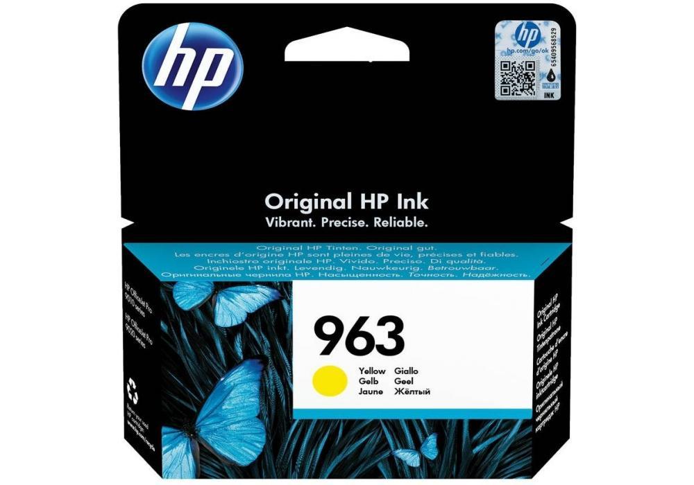 HP Ink Cartridge 963 Yellow