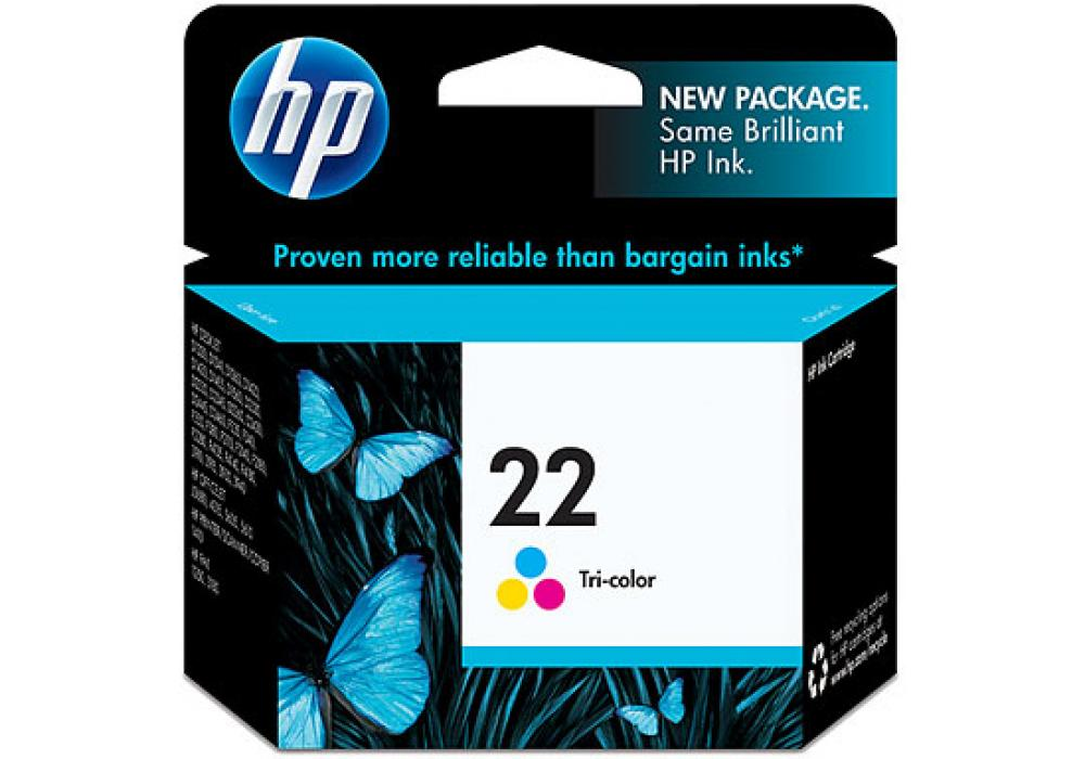 HP Ink Cartridge 22 Color