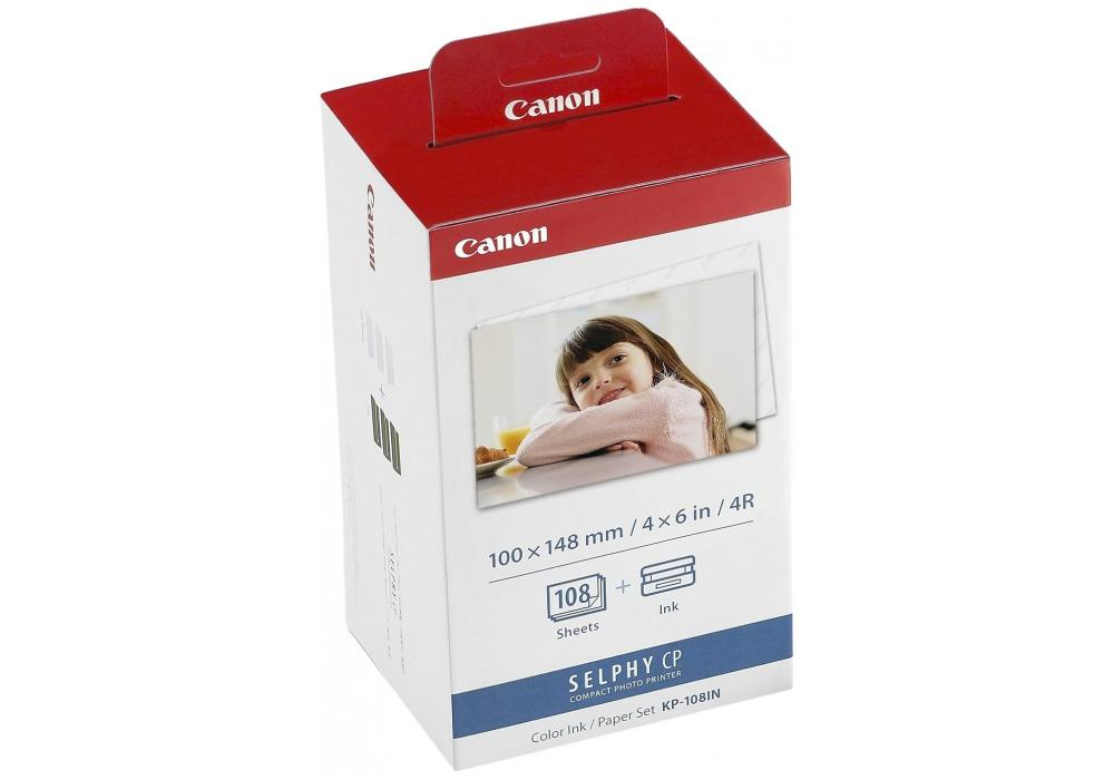 Canon KP-108IN Color Ink And Paper Set